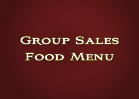 Group Sales Food Menu