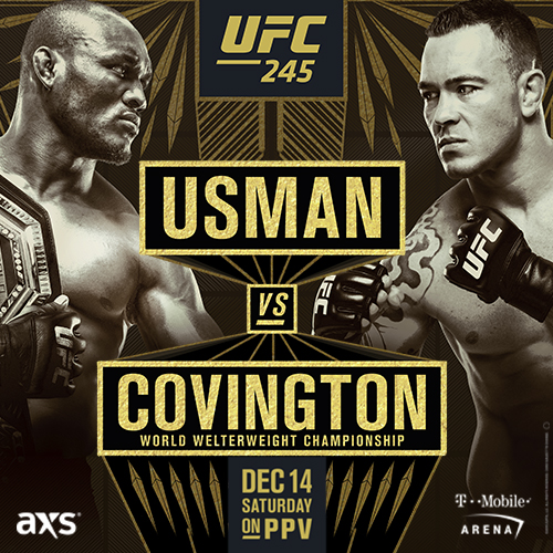 UFC245 USMAN VS COVINGTONG